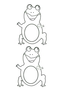 pic of frog template